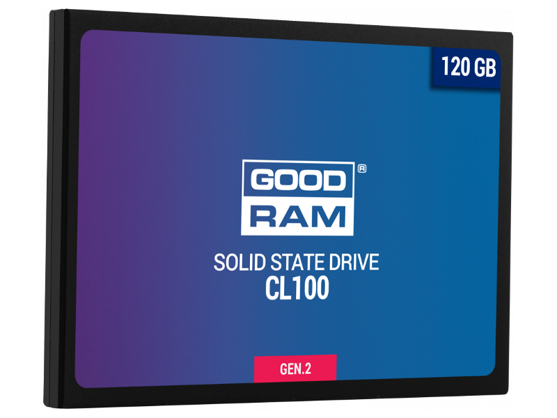 Жесткий диск GoodRAM CL100 Gen.2 120Gb SSDPR-CL100-120-G2