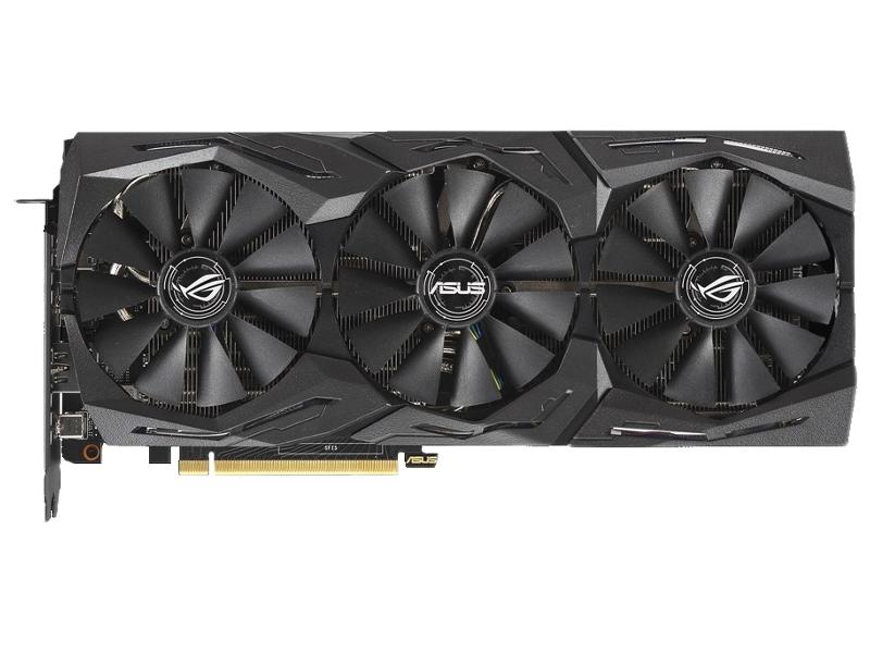 Видеокарта ASUS GeForce RTX 2060 1365Mhz PCI-E 3.0 6144Mb 14000Mhz 192 bit 2xDP 2xHDMI ROG-STRIX-RTX2060-6G-GAMING asus rog strix gtx1060 6g gaming graphics 1506 1708mhz 6gb gddr5 pci e3 0 desktop game graphics