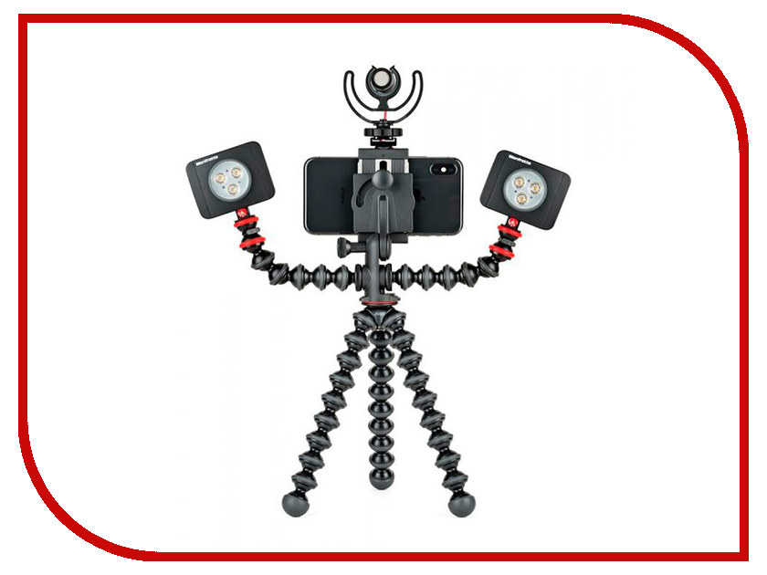 Штатив Joby GorillaPod Mobile Rig JB01533-BWW штатив joby gorillapod slr zoom gp3 jb00134 bww