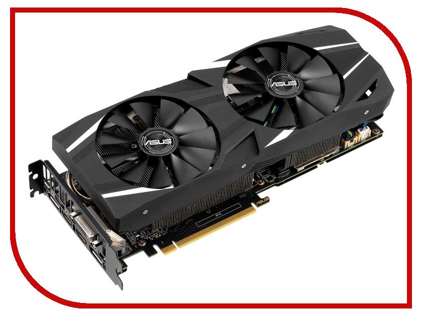 Купить Видеокарта ASUS GeForce RTX 2060 1365Mhz PCI-E 3.0 6144Mb 14000Mhz 192 bit 2xDP 2xHDMI DUAL-RTX2060-A6G