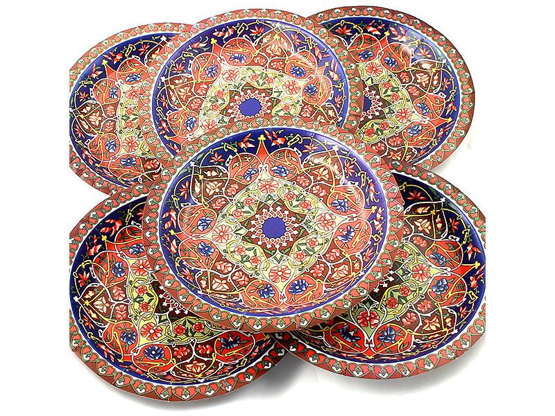 Одноразовые тарелки Эврика N 29 Разноцветная 190mm 6шт 96974