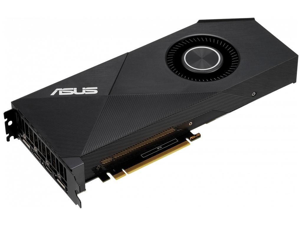 Видеокарта ASUS GeForce RTX 2060 1365Mhz PCI-E 3.0 6144Mb 14000Mhz 192 bit 2xDP 2xHDMI TURBO-RTX2060-6G фото