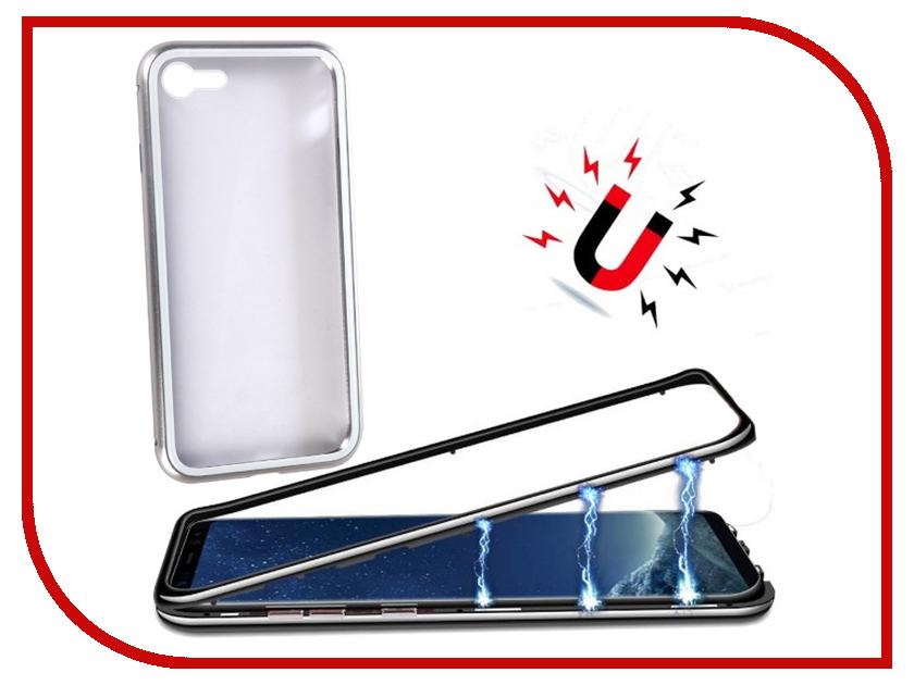 Аксессуар Чехол для APPLE iPhone 7/8 360 Strong Magnetic Silver 90214