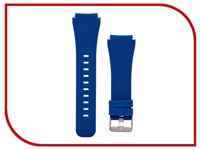 Аксессуар Ремешок для Samsung Gear S3 Frontier/  Classic/Galaxy Watch 46mm Activ Silicone Dark Blue 93083