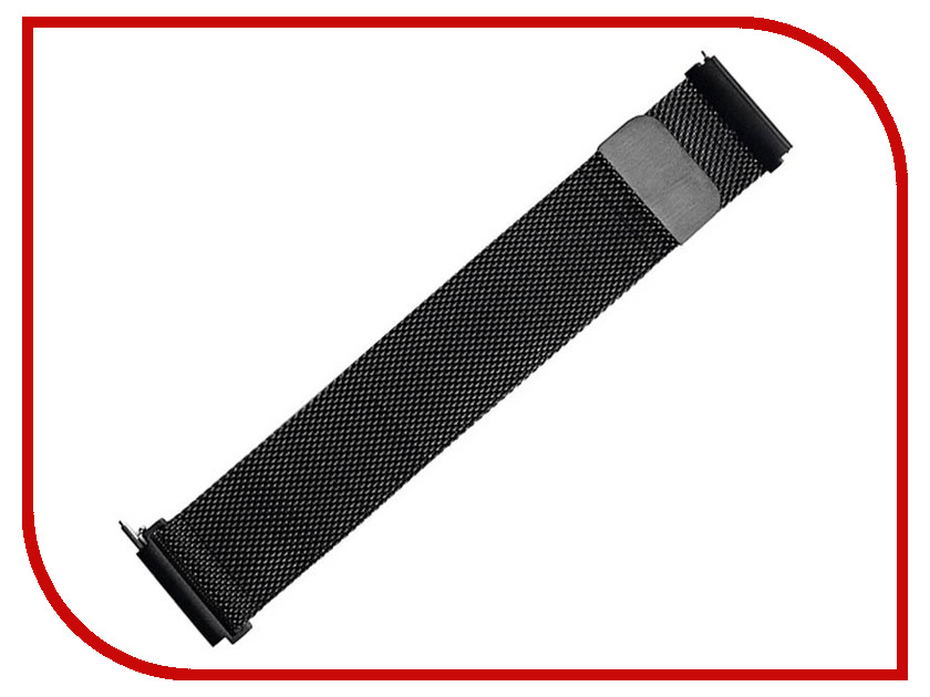 Аксессуар Ремешок для Samsung Gear S3 Frontier/Gear S3 Classic/Galaxy Watch 46mm Activ Metal Mesh Black 93079 22mm magnetic band loop for samsung gear s3 classic s3 frontier watch band bracelet strap stainless steel band black sliver