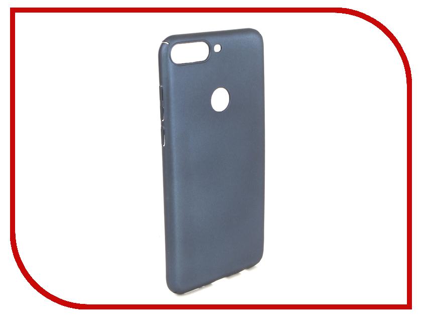 Чехол Honor 7C Pro iBox Soft Touch Fresh Blue УТ000017256 аксессуар чехол для huawei honor 7a pro 7c y6 prime 2018 ibox soft touch fresh blue ут000016886