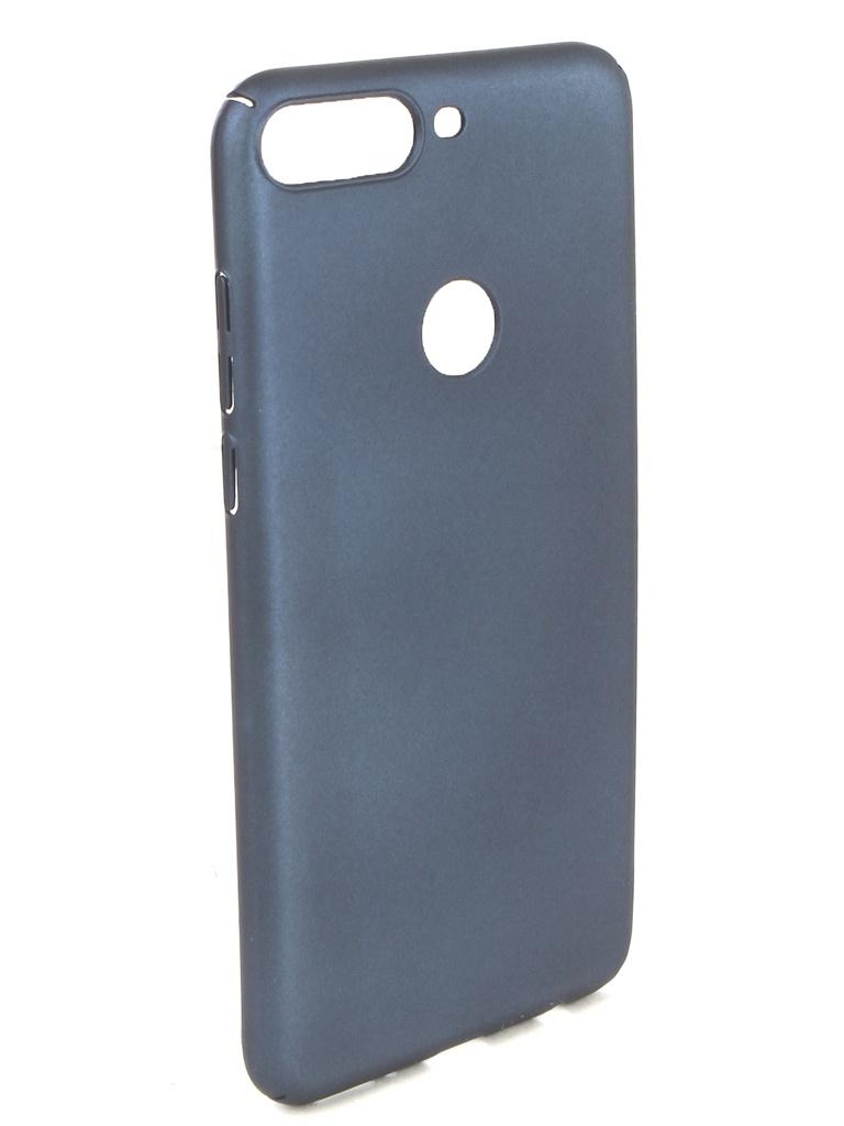 Аксессуар Чехол iBox для Honor 7C Pro Soft Touch Fresh Blue УТ000017256 аксессуар чехол для huawei honor 7a pro 7c y6 prime 2018 ibox soft touch fresh blue ут000016886