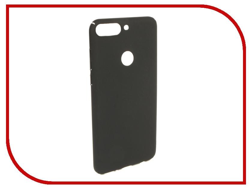 Чехол Honor 7C Pro iBox Soft Touch Fresh Black УТ000017257 аксессуар чехол для huawei honor 7a pro 7c y6 prime 2018 ibox soft touch fresh blue ут000016886