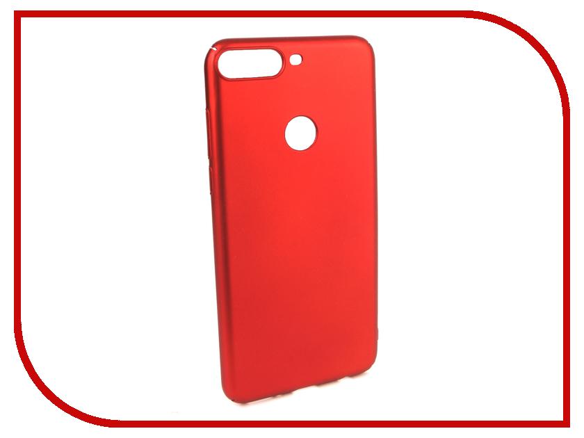 Чехол Honor 7C Pro iBox Soft Touch Fresh Red УТ000017255 аксессуар чехол для huawei honor 7a pro 7c y6 prime 2018 ibox soft touch fresh blue ут000016886