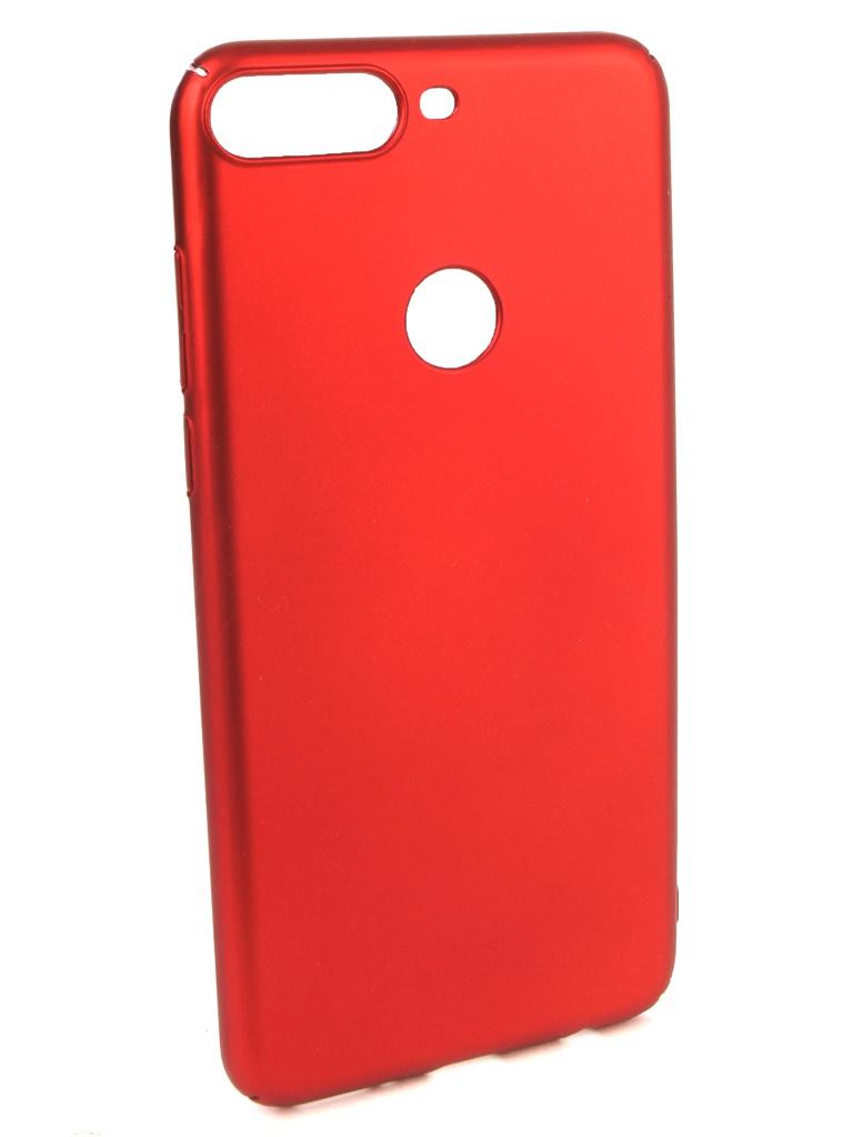 Аксессуар Чехол iBox для Honor 7C Pro Soft Touch Fresh Red УТ000017255 аксессуар чехол для honor 8c ibox soft touch fresh red ут000016891