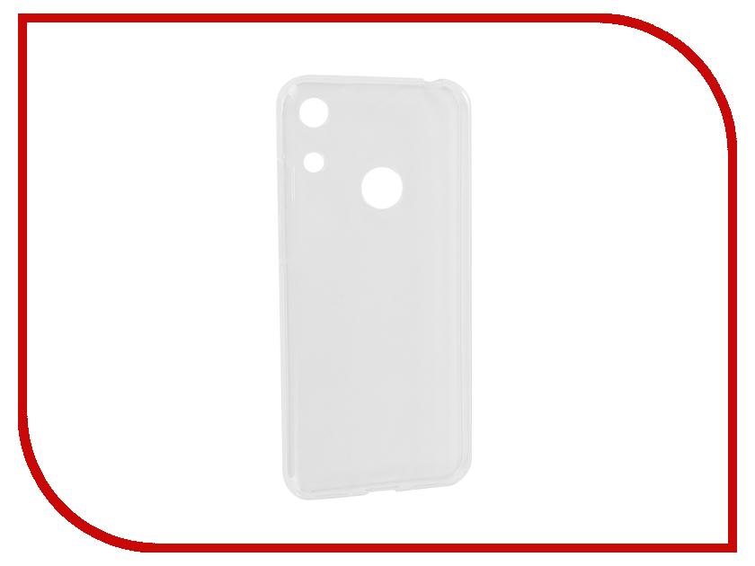 Аксессуар Чехол для Honor 8A iBox Crystal Silicone Transparent УТ000017081 аксессуар чехол для lg q6 ibox crystal transparent