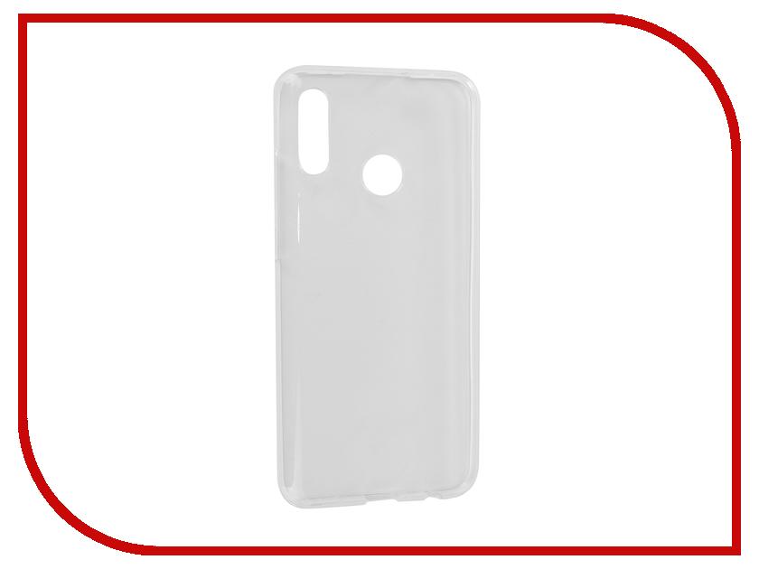 Аксессуар Чехол для Honor 10 Lite iBox Crystal Silicone Transparent УТ000017080 аксессуар чехол для huawei honor 8 lite p8 lite onext silicone transparent 70533