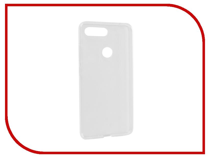 все цены на Аксессуар Чехол для Xiaomi Mi 8 Lite iBox Crystal Silicone Transparent УТ000017142
