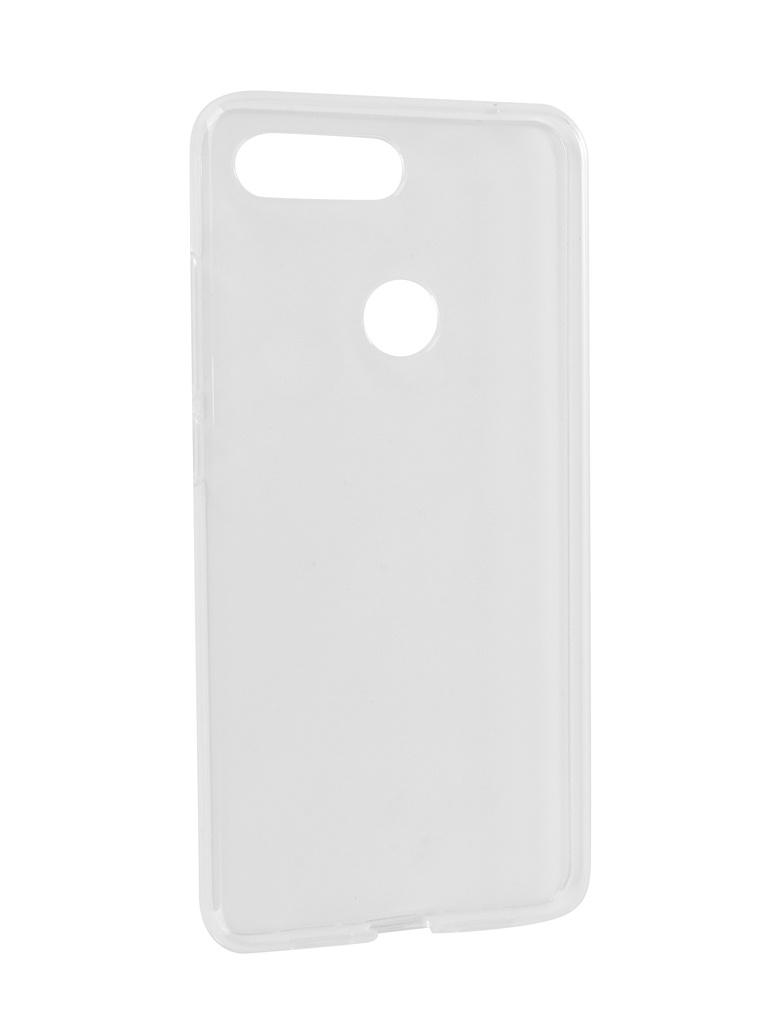 Аксессуар Чехол iBox для Xiaomi Mi 8 Lite Crystal Silicone Transparent УТ000017142 недорого