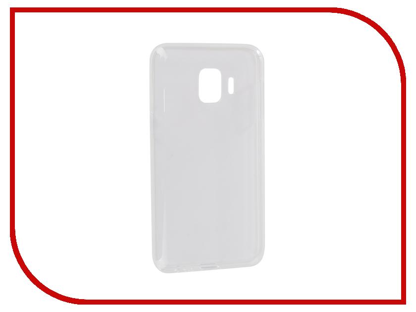Аксессуар Чехол для Samsung Galaxy J2 Core J260F iBox Crystal Silicone Transparent УТ000017068 аксессуар чехол накладка для samsung galaxy j2 2018 gurdini high tech silicone transparent 905900