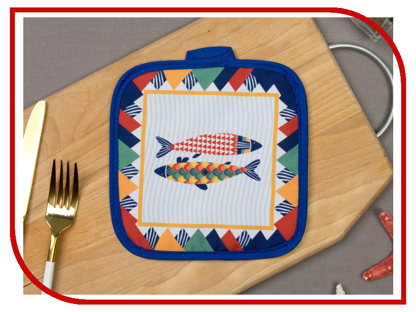 Прихватка Этель Fish 17x17cm 3782850