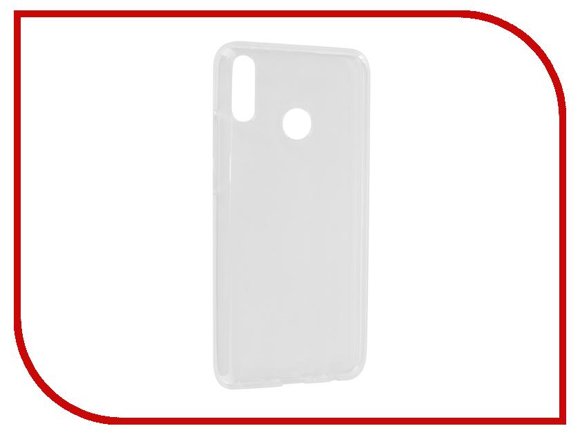 все цены на Аксессуар Чехол для Huawei Y9 2019 iBox Crystal Silicone Transparent УТ000017078