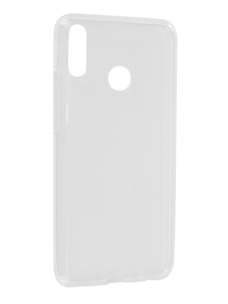 Аксессуар Чехол iBox для Huawei Y9 2019 Crystal Silicone Transparent УТ000017078 аксессуар чехол для huawei p20 pro ibox crystal silicone transparent