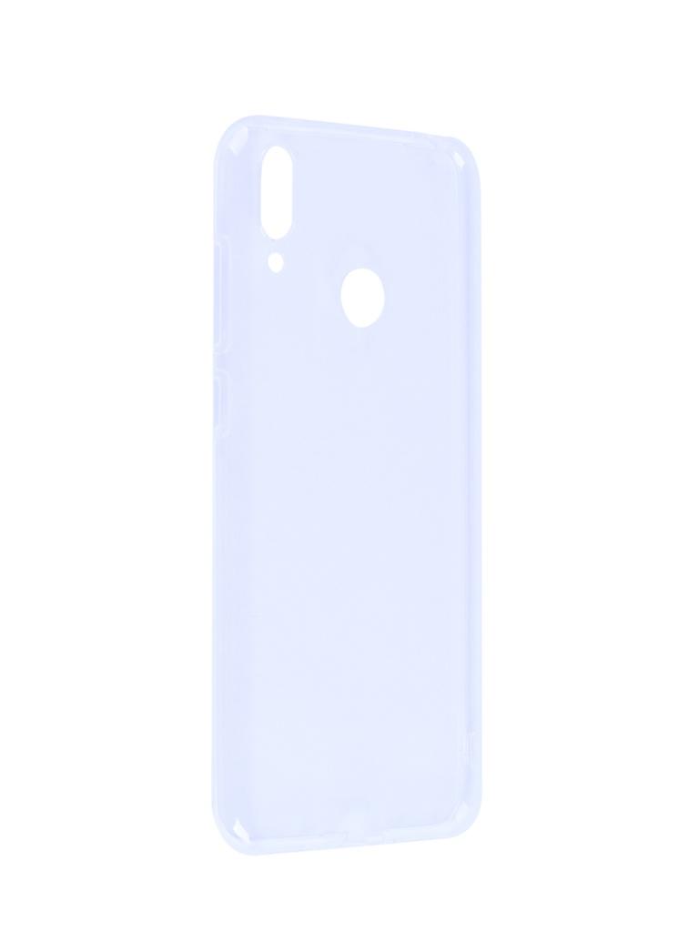 Аксессуар Чехол iBox для Huawei Y7 2019 Crystal Silicone Transparent УТ000017077
