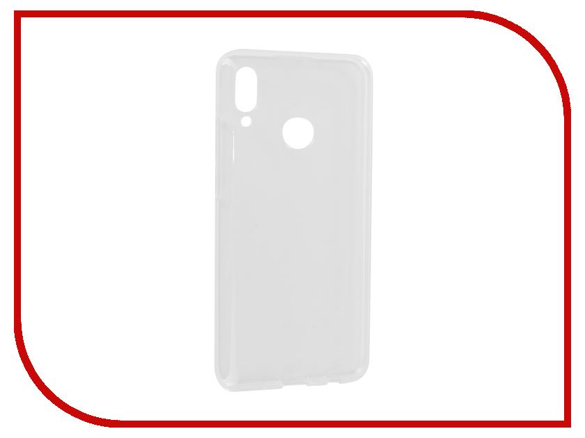Аксессуар Чехол для Huawei P Smart 2019 iBox Crystal Silicone Transparent УТ000017135 аксессуар чехол для huawei p smart 7s innovation silicone pink 12840