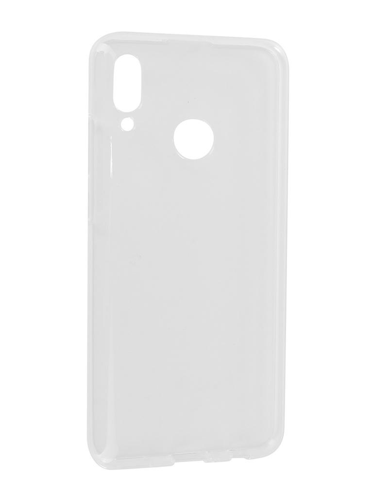 Аксессуар Чехол iBox для Huawei P Smart 2019 Crystal Silicone Transparent УТ000017135 аксессуар чехол для huawei p20 pro ibox crystal silicone transparent