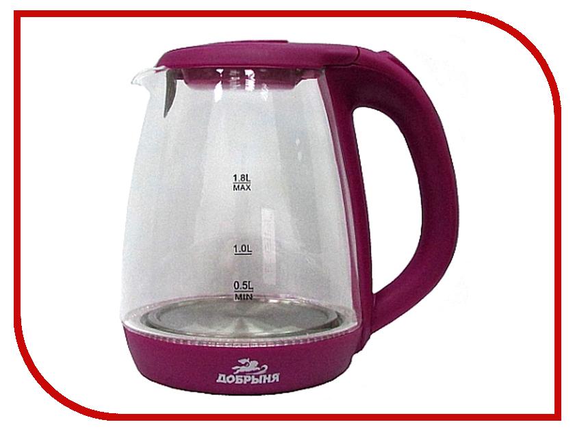 Чайник Добрыня DO-1234V Lilac цена и фото