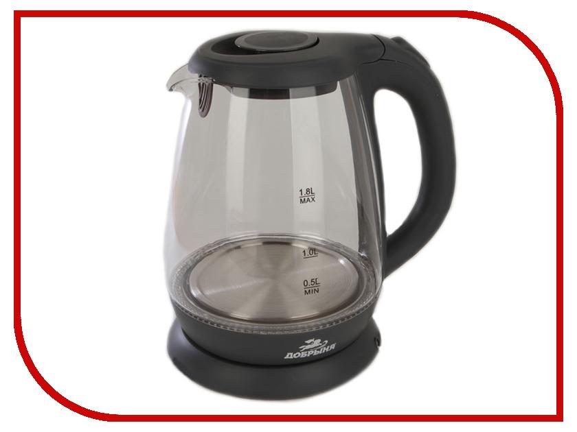 Чайник Добрыня DO-1234G Graphite цена и фото