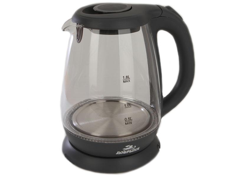 Чайник Добрыня DO-1234G Graphite