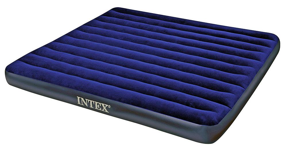Надувной матрас Intex King Classic Downy Bed 183x203x22cm 68755 Выгодный набор + серт. 200Р!!!