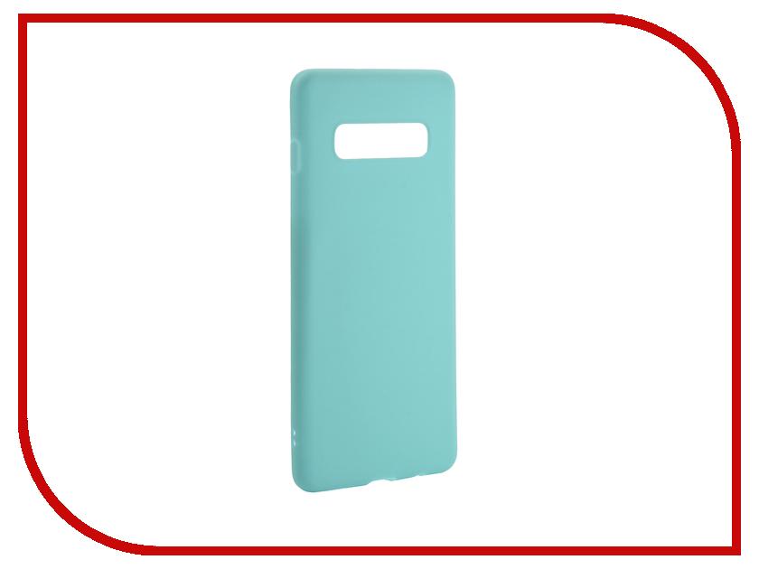 Аксессуар Чехол для Samsung Galaxy S10 Plus 2019 Zibelino Soft Matte Turquoise ZSM-SAM-S10-PL-TQS аксессуар чехол для samsung galaxy a8 plus 2018 a730 zibelino soft matte turquoise zsm sam a730 tqs