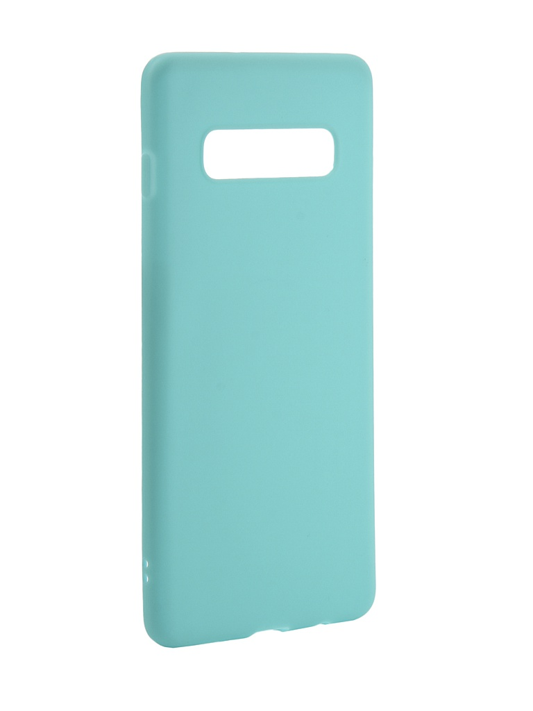 Аксессуар Чехол Zibelino для Samsung Galaxy S10 Plus 2019 Soft Matte Turquoise ZSM-SAM-S10-PL-TQS аксессуар чехол zibelino для samsung galaxy s10 plus 2019 soft matte red zsm sam s10 pl red