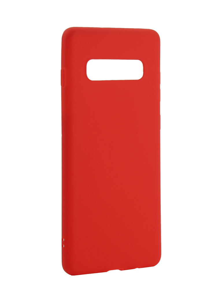 Аксессуар Чехол Zibelino для Samsung Galaxy S10 Plus 2019 Soft Matte Red ZSM-SAM-S10-PL-RED аксессуар чехол zibelino для samsung galaxy s10 plus 2019 soft matte red zsm sam s10 pl red