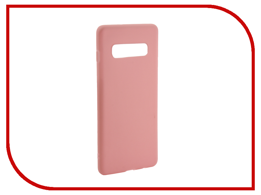 Аксессуар Чехол для Samsung Galaxy S10 Plus 2019 Zibelino Soft Matte Pink ZSM-SAM-S10-PL-PNK new 8 inch for huawei mediapad t1 8 0 3g s8 701u honor pad t1 s8 701 digitizer touch screen sensor lcd display panel assembly