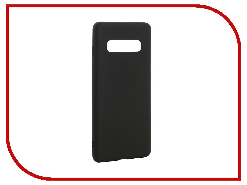 Аксессуар Чехол для Samsung Galaxy S10 Plus 2019 Zibelino Soft Matte Black ZSM-SAM-S10-PL-BLK цены