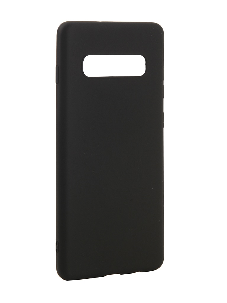 Аксессуар Чехол Zibelino для Samsung Galaxy S10 Plus 2019 Soft Matte Black ZSM-SAM-S10-PL-BLK аксессуар чехол zibelino для samsung galaxy a40 a405 2019 soft matte black zsm sam a40 blk