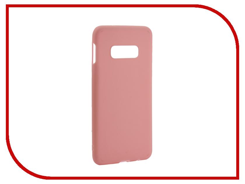 Аксессуар Чехол для Samsung Galaxy S10 Lite 2019 Zibelino Soft Matte Pink ZSM-SAM-S10-LT-PNK аксессуар чехол для samsung galaxy note 5 zibelino clear view gold pink zcv sam not 5 gpnk