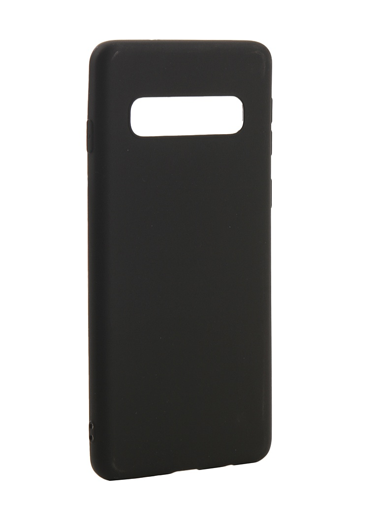 Аксессуар Чехол Zibelino для Samsung Galaxy S10 2019 Soft Matte Black ZSM-SAM-S10-BLK аксессуар чехол zibelino для samsung galaxy s10 plus 2019 soft matte red zsm sam s10 pl red