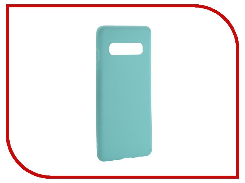 Аксессуар Чехол для Samsung Galaxy S10 2019 Zibelino Soft Matte Turquoise ZSM-SAM-S10-TQS аксессуар чехол для samsung galaxy a8 plus 2018 a730 zibelino soft matte turquoise zsm sam a730 tqs