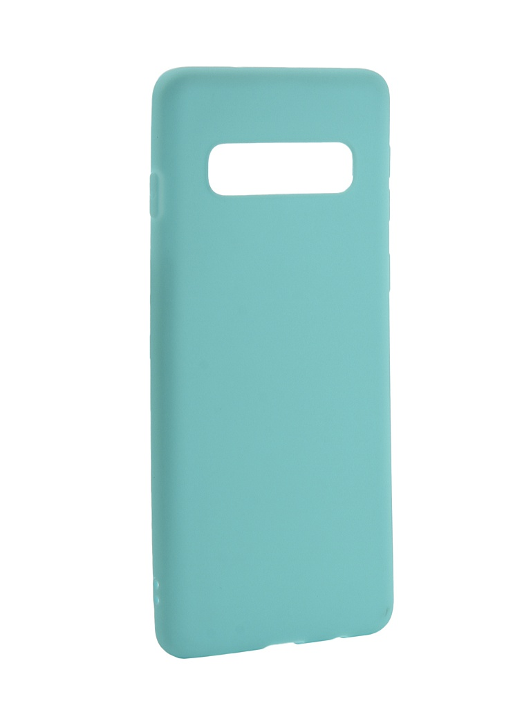 Аксессуар Чехол Zibelino для Samsung Galaxy S10 2019 Soft Matte Turquoise ZSM-SAM-S10-TQS аксессуар чехол zibelino для samsung galaxy s10 plus 2019 soft matte red zsm sam s10 pl red
