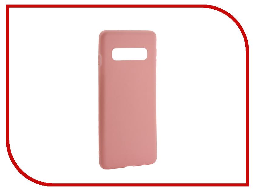 Аксессуар Чехол для Samsung Galaxy S10 2019 Zibelino Soft Matte Pink ZSM-SAM-S10-PNK аксессуар чехол samsung j3 2017 j330f zibelino clear view black zcv sam j330 blk