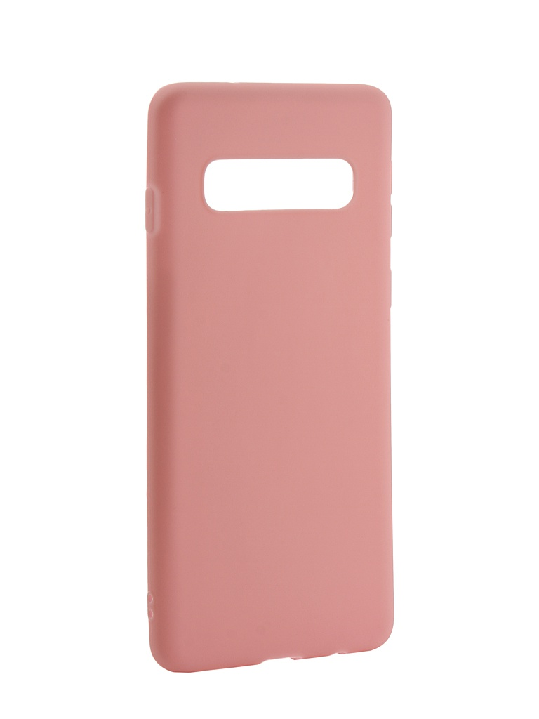 Аксессуар Чехол Zibelino для Samsung Galaxy S10 2019 Soft Matte Pink ZSM-SAM-S10-PNK аксессуар чехол zibelino для samsung galaxy s10 plus 2019 soft matte red zsm sam s10 pl red
