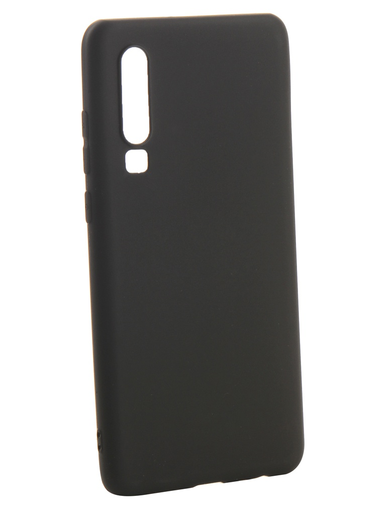 Аксессуар Чехол Zibelino для Huawei P30 2019 Soft Matte Black ZSM-HUA-P30-BLK аксессуар чехол для sony xz2 compact zibelino soft matte black zsm son xz2 cmp blk
