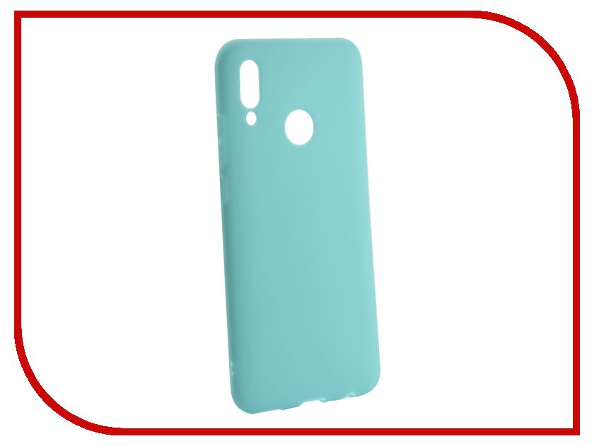 Аксессуар Чехол для Huawei P Smart 2019 Zibelino Soft Matte Turquoise ZSM-HUA-PSM-2019-TQS аксессуар чехол meizu u10 zibelino classico turquoise zcl mz u10 tqs