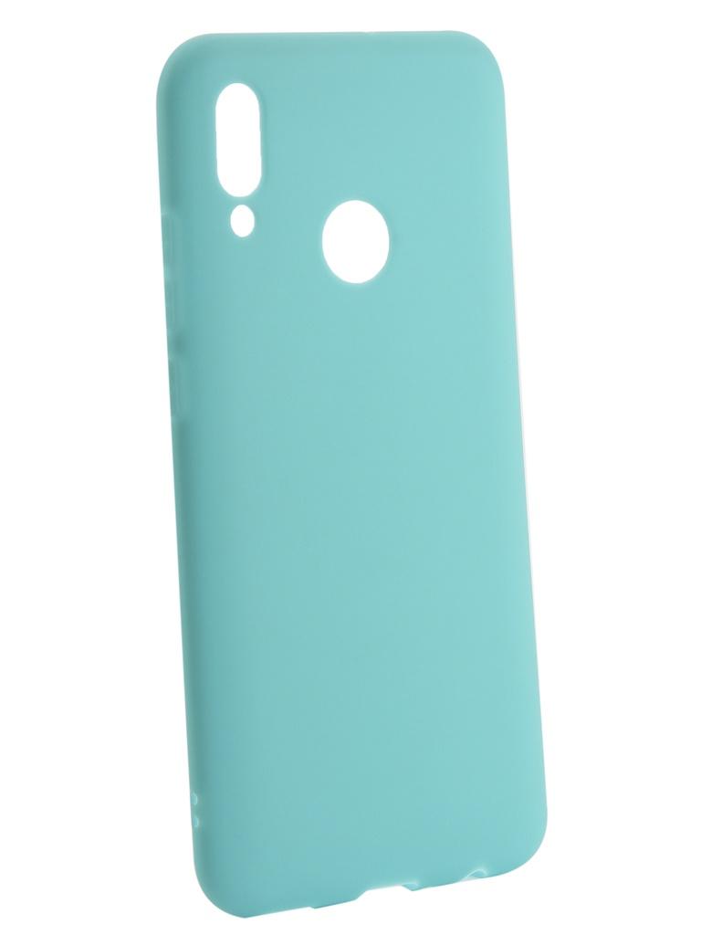 Чехол Zibelino для Huawei P Smart 2019 Soft Matte Turquoise ZSM-HUA-PSM-2019-TQS