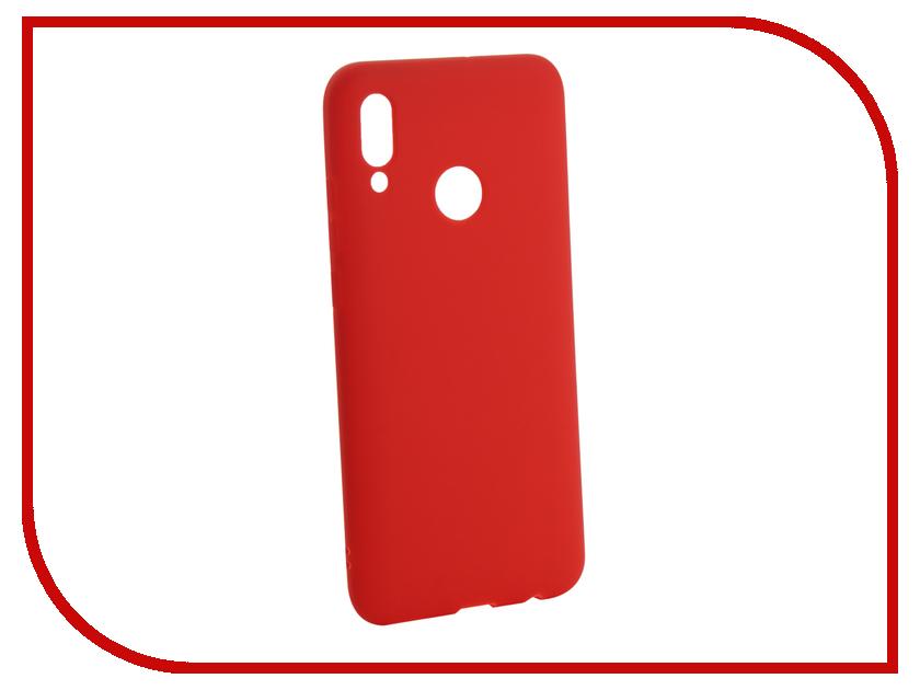 Аксессуар Чехол для Huawei P Smart 2019 Zibelino Soft Matte Red ZSM-HUA-PSM-2019-RED