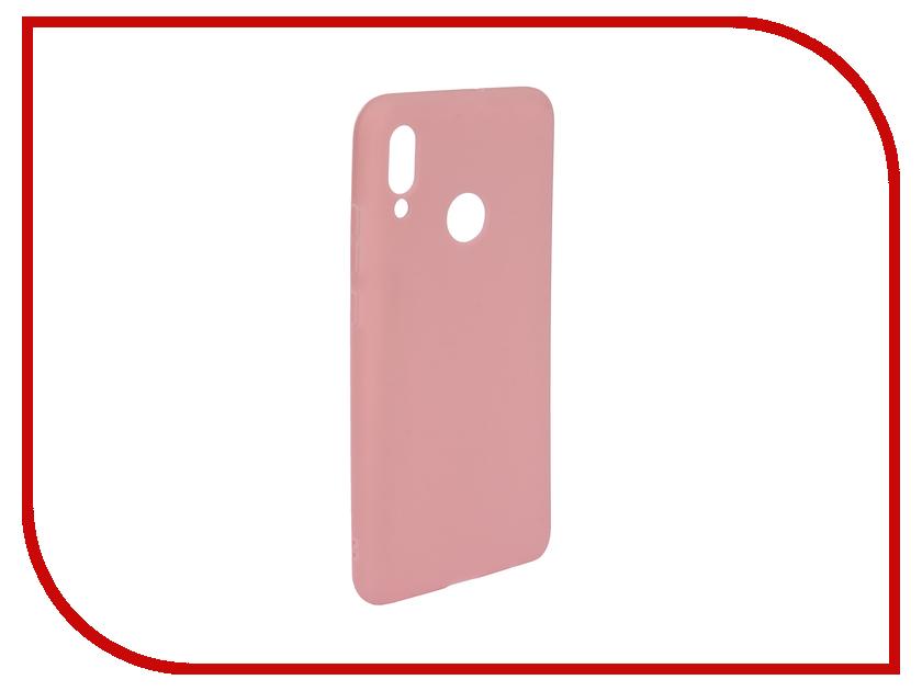 Аксессуар Чехол для Huawei P Smart 2019 Zibelino Soft Matte Pink ZSM-HUA-PSM-2019-PNK аксессуар чехол для huawei p smart 7s innovation silicone pink 12840