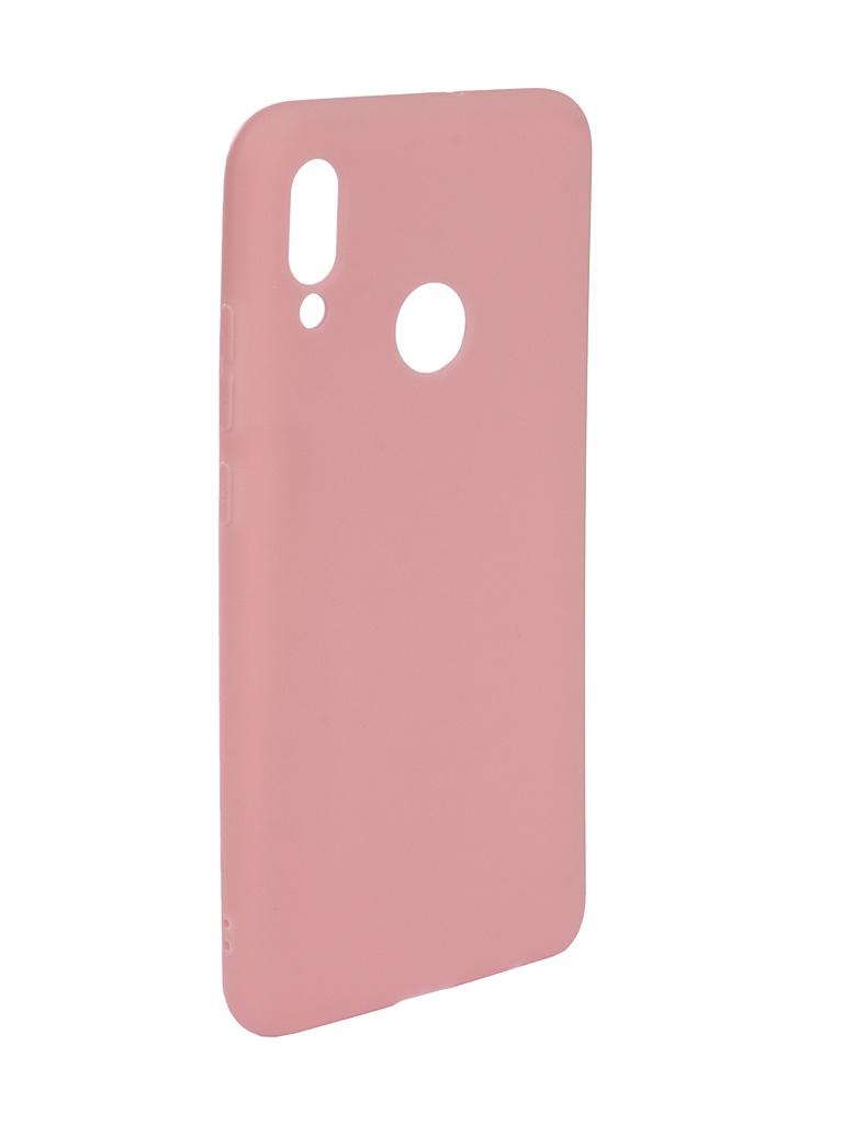 Аксессуар Чехол Zibelino для Huawei P Smart 2019 Soft Matte Pink ZSM-HUA-PSM-2019-PNK