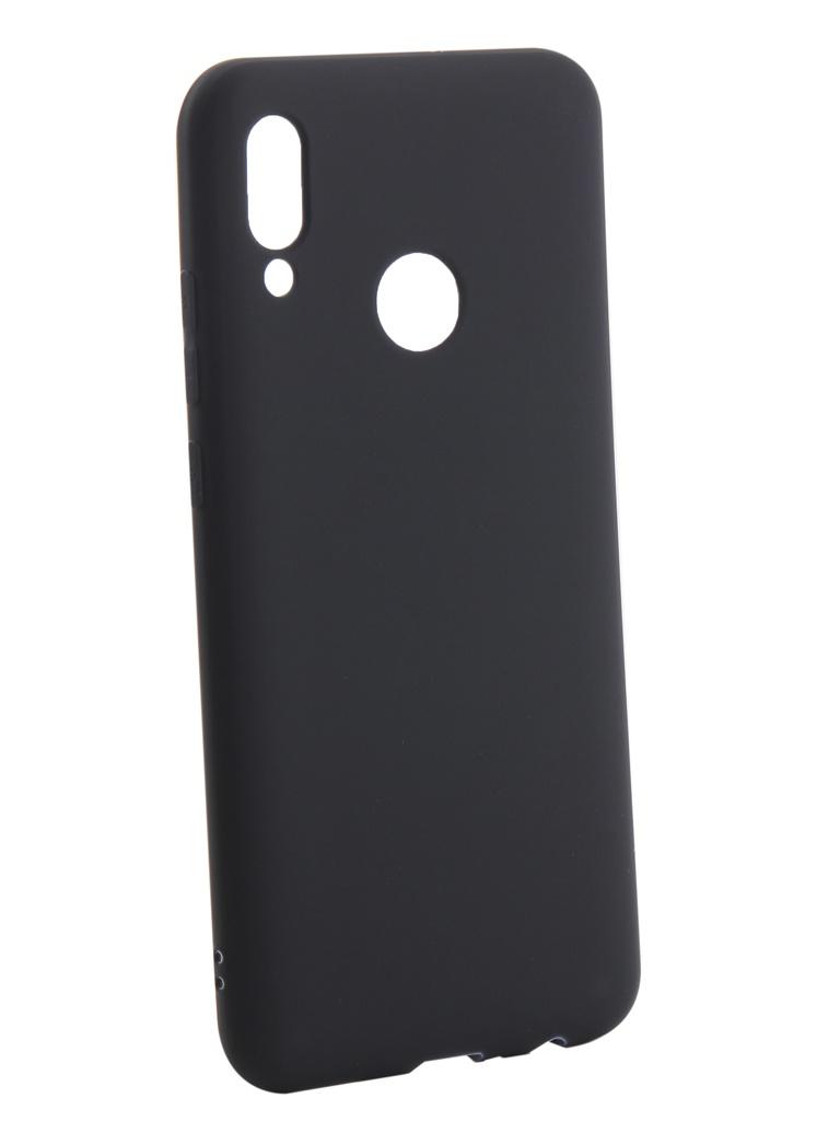 Чехол Zibelino для Huawei P Smart 2019 Soft Matte Dark Blue ZSM-HUA-PSM-2019-DBLU