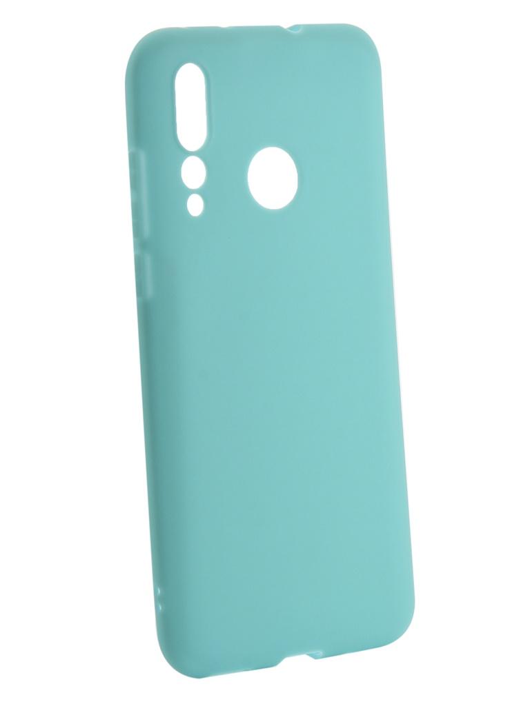 Аксессуар Чехол Zibelino для Huawei Nova 4 2018 Soft Matte Turquoise ZSM-HUA-NOVA4-TQS аксессуар чехол zibelino для honor play soft matte turquoise zsm hua pl tqs
