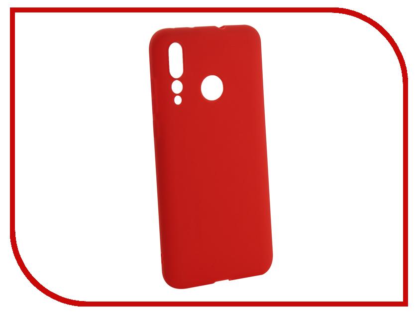 Купить Аксессуар Чехол для Huawei Nova 4 2018 Zibelino Soft Matte Red ZSM-HUA-NOVA4-RED